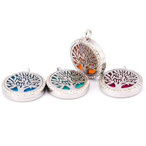 4 Tree of Life Pendants