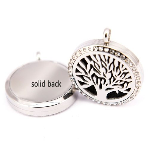 Tree of Life Pendant Back
