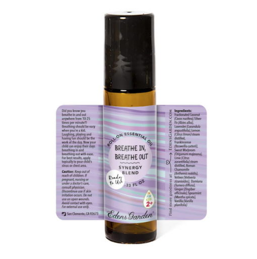 Breathe in Breathe Out Essential Oil for kids 1