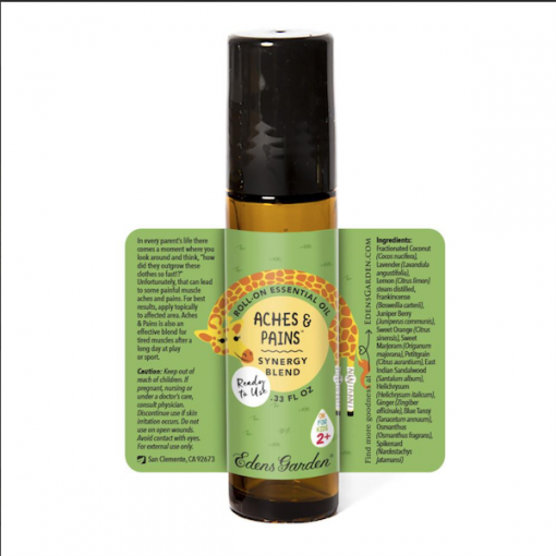 Aches and Pains Essential Oil for kids description