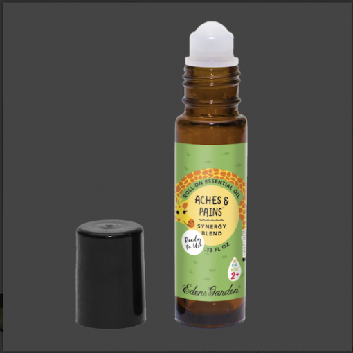 Aches and Pains Essential Oil for kids rollin