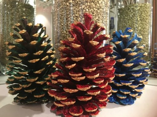 Christmas decoration all colours