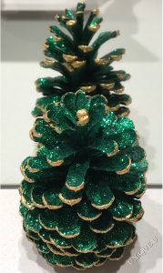 Green and Gold Christmas decoration