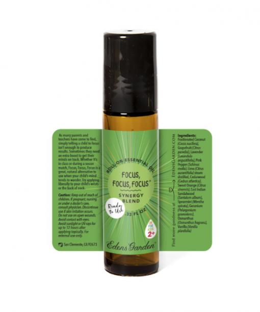 essential oil for kids focus description