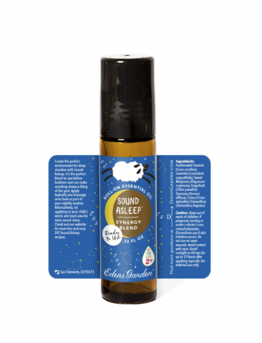 essential oil for kids sound asleep description