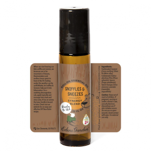 essential oils for kids sniffles and sneeze dens garden description